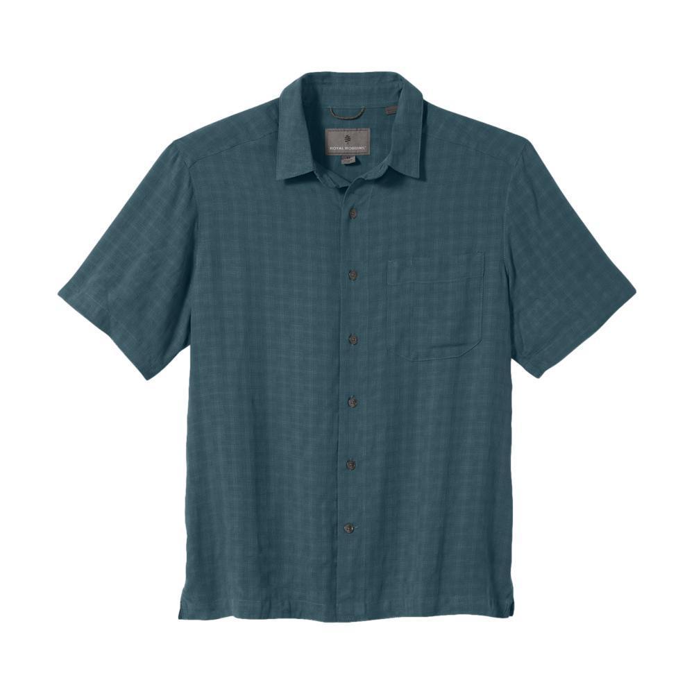 Royal Robbins Men's San Juan Dry Short Sleeve Shirt BALSAM_25