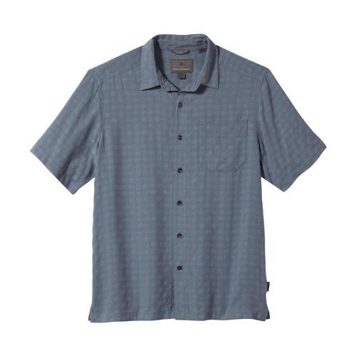 Royal Robbins Men's San Juan Dry Short Sleeve Shirt Grey_457