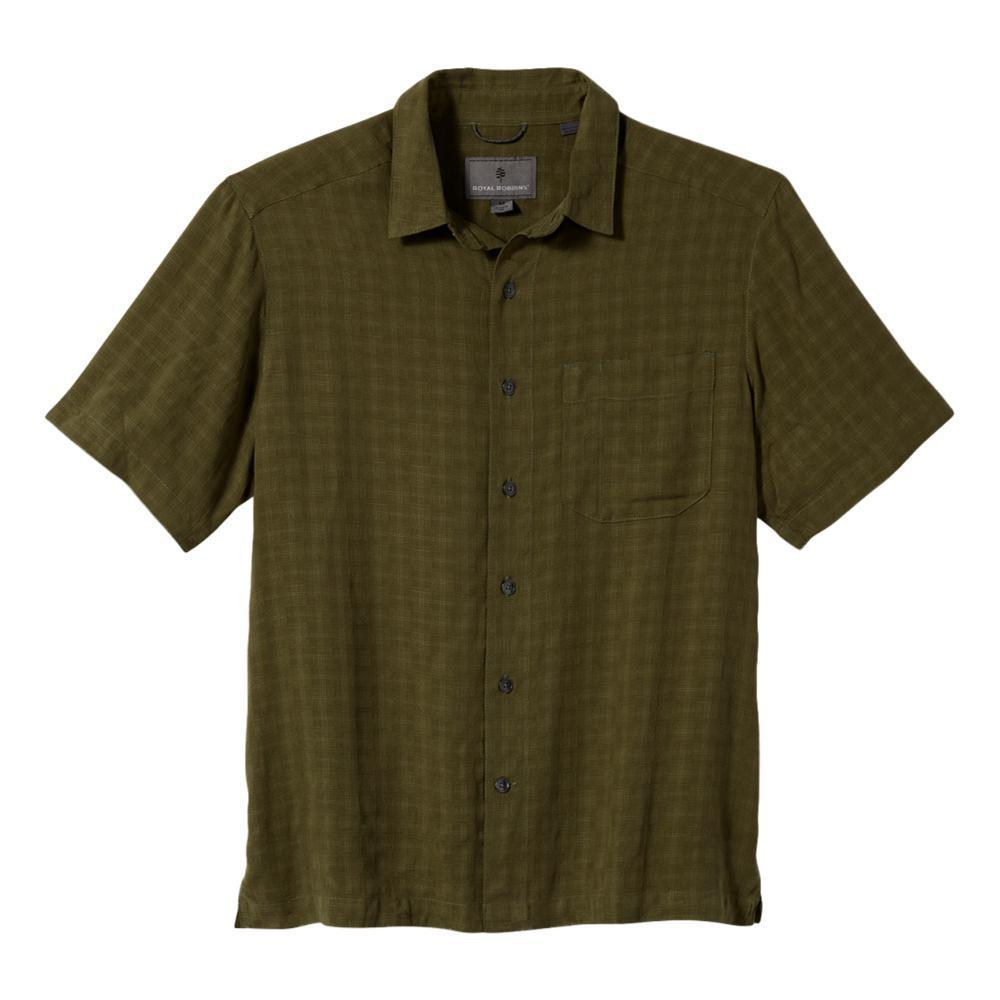 Royal Robbins Men's San Juan Dry Short Sleeve Shirt OLIVINE_197