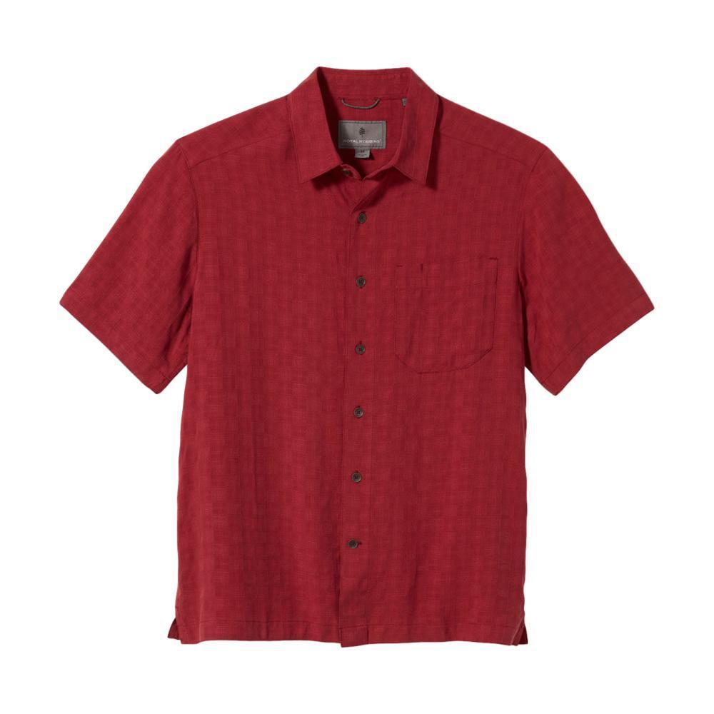 Royal Robbins Men's San Juan Dry Short Sleeve Shirt TOMATO_639