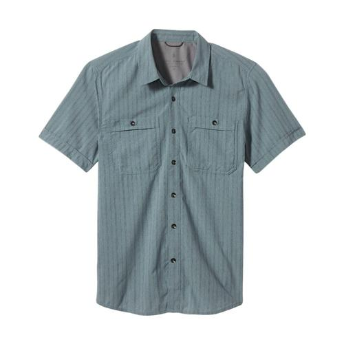 Royal Robbins Men's Vista Dry Short Sleeve Shirt Pelican_164