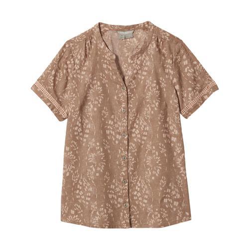 Royal Robbins Women's Cool Mesh Eco Short Sleeve Top Eveningsand_961
