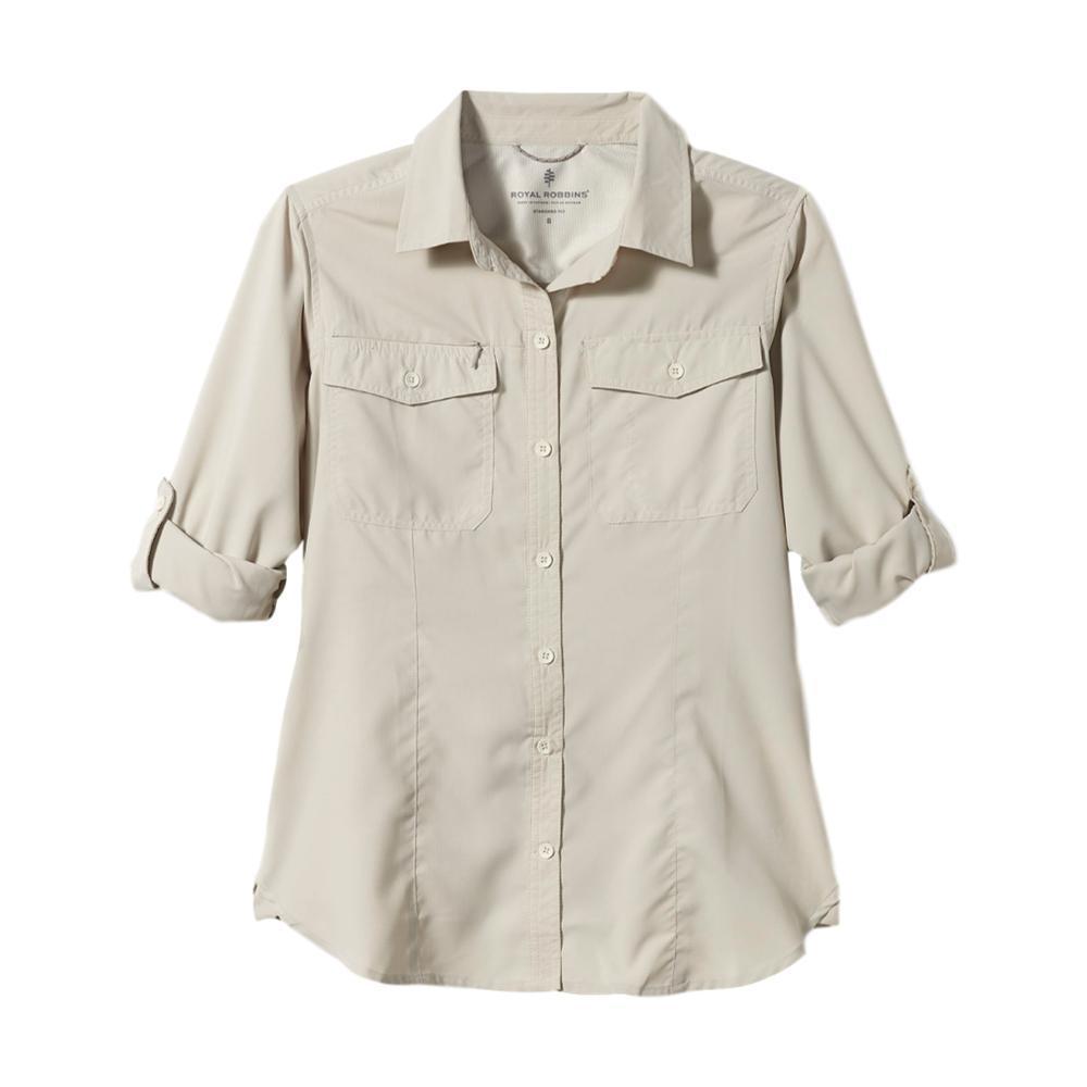 Royal Robbins Women's Expedition Long Sleeve Shirt SOAPSTONE_151