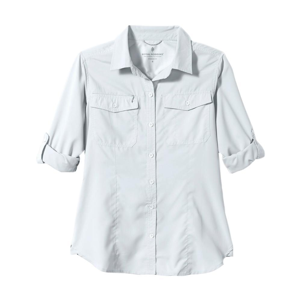 Royal Robbins Women's Expedition Long Sleeve Shirt WHITE_10