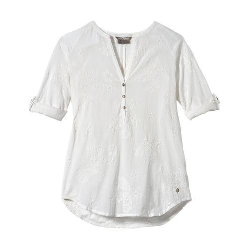 Royal Robbins Women's Oasis Tunic II 3/4 Sleeve White_10