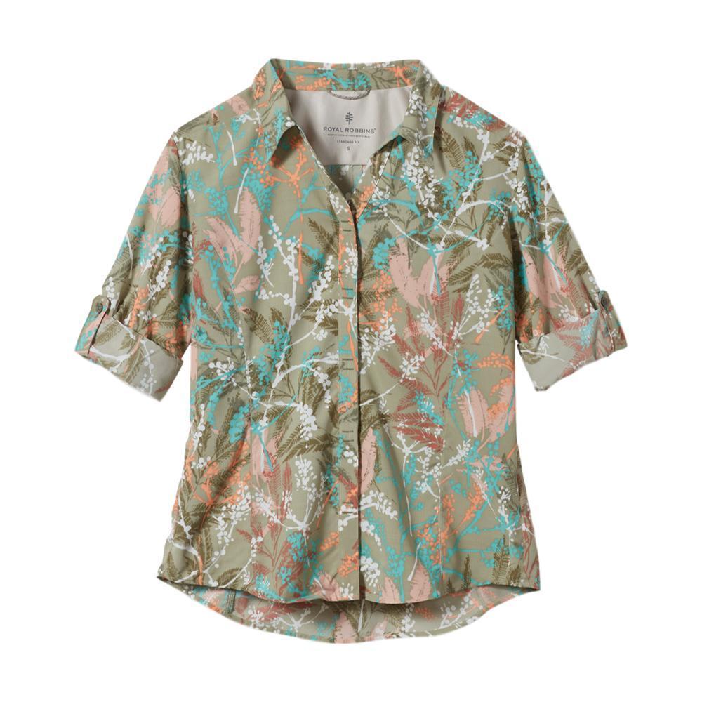 Royal Robbins Women's Expedition Print 3/4 Sleeve Shirt TEA_301