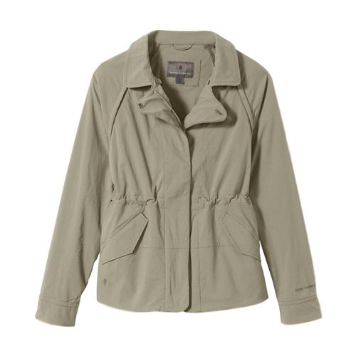 Royal Robbins Women's Discovery Convertible Jacket II Sandstone_40