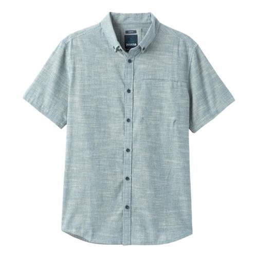 prAna Men's Agua Shirt - Slim Atlantic