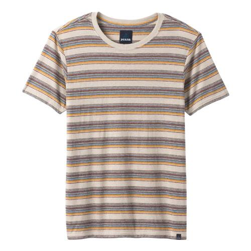 prAna Men's Dustin Short Sleeve Crew Toffee