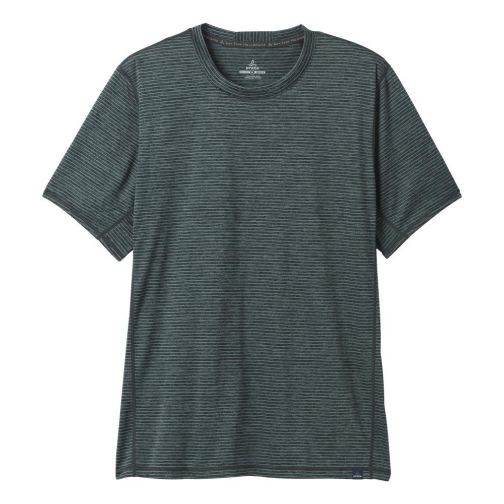 prAna Men's Hardesty Short Sleeve Shirt BLACKOUT