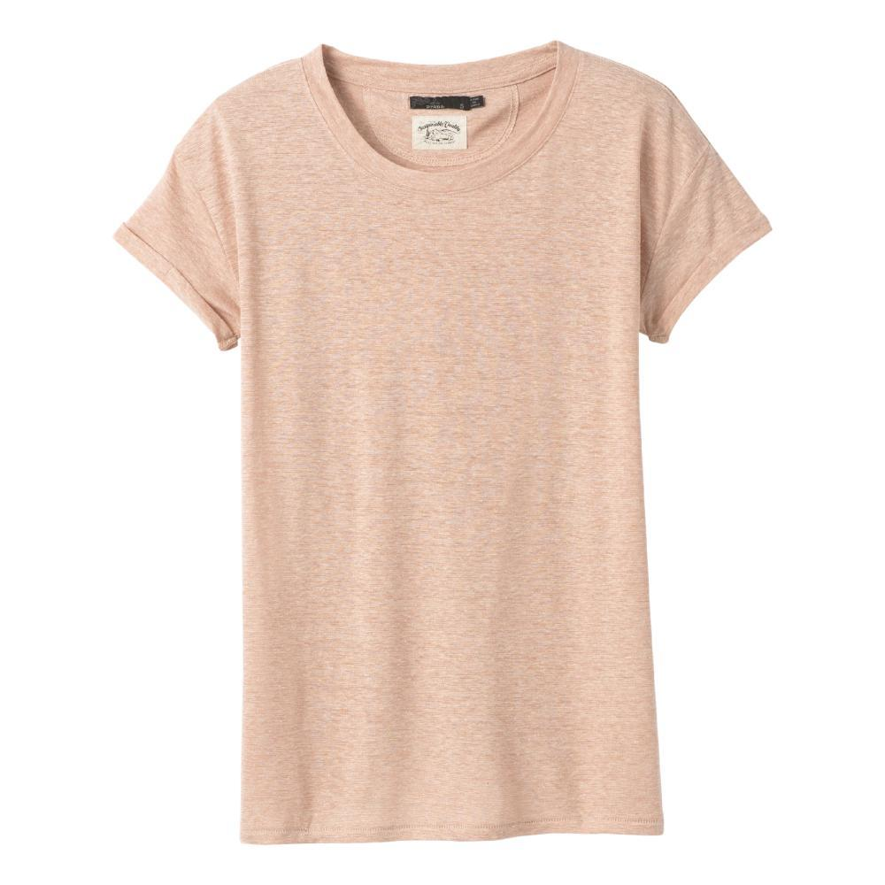 prAna Women's Cozy Up T-Shirt CHAMPAGNE