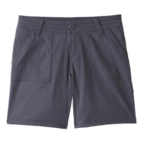prAna Women's Olivia Shorts Plus - 7in Inseam Coal