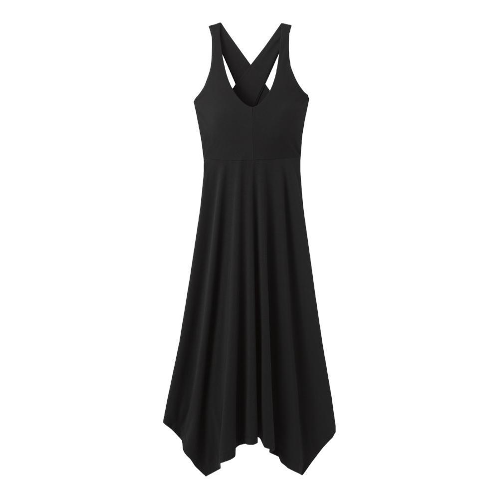 prAna Women's Josepina Maxi Dress BLACK