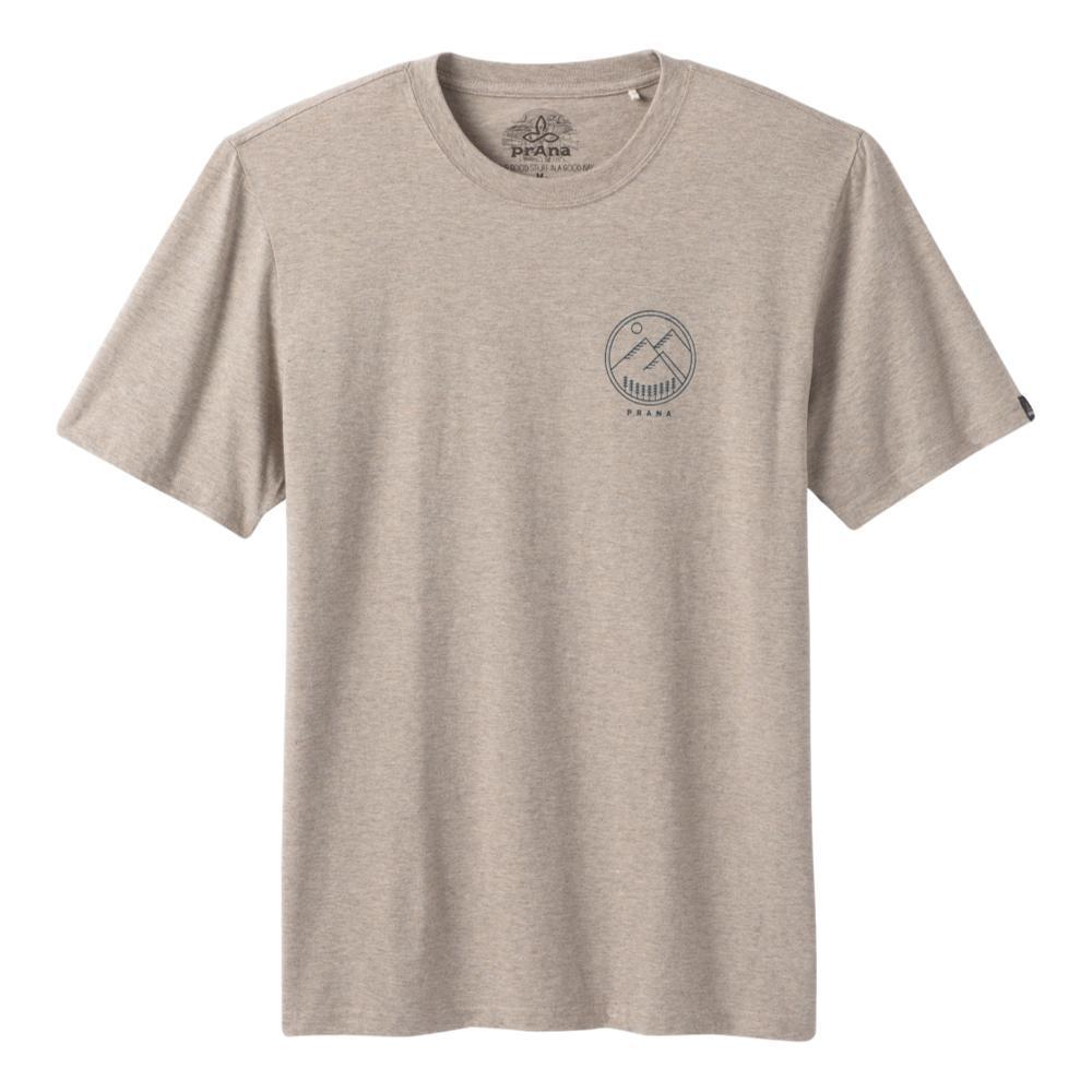 Prana MenÕs Weekend Wander T-Shirt DKKHAKIHT