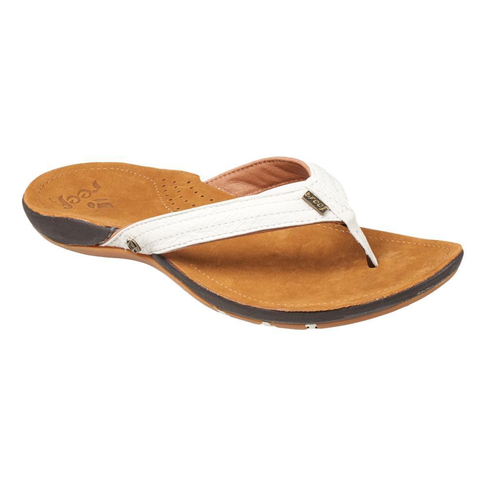Reef Women's Miss J-Bay Flip Flop Sandals TAN.WHT_TAW