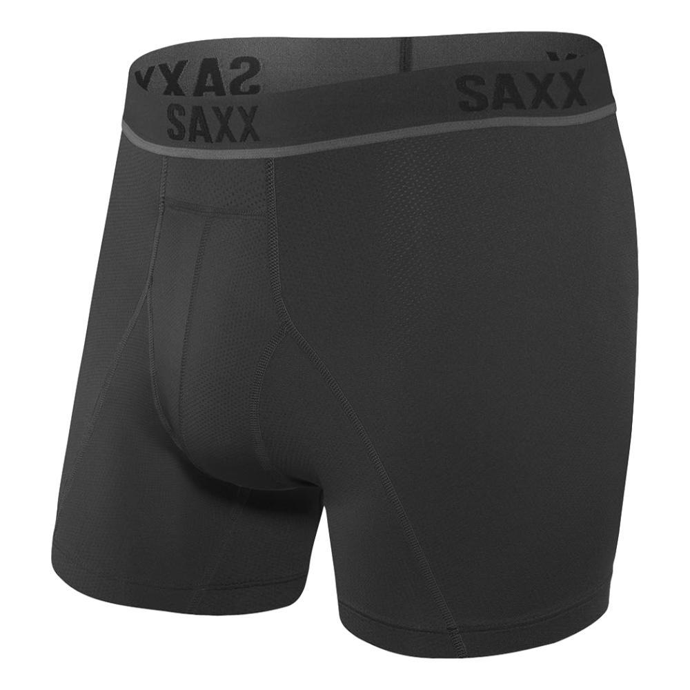 SAXX Men's Kinetic HD Boxer Briefs BLACKO_BLO
