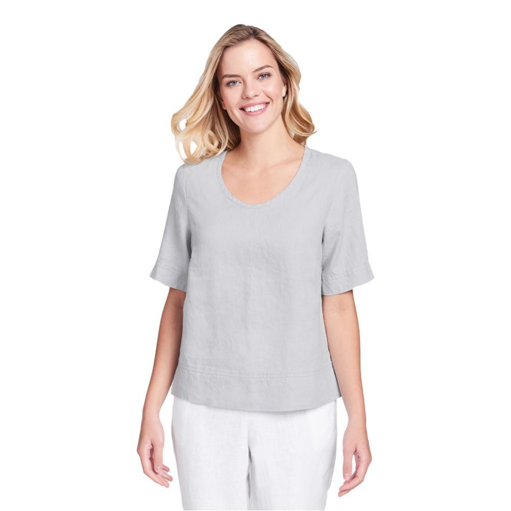 FLAX Women's Linear Crop Shirt DOVE