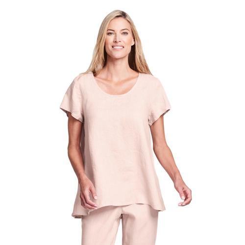 FLAX Women's Generous Blossom Blouse Blush