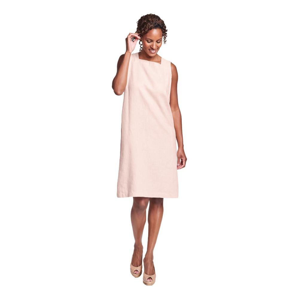 FLAX Women's Square Neck Dress BLUSH
