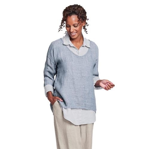 FLAX Women's Whisperer Shirt Denimstitch