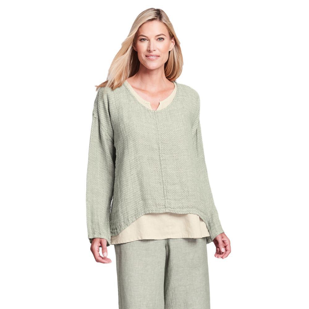 FLAX Women's Whisperer Shirt GREENTEASTCH