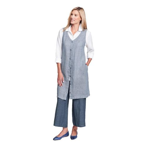 FLAX Women's Damsel Dress Denimstitch