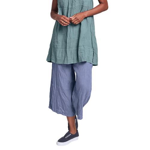 FLAX Women's Urban Crop Pants Indigo