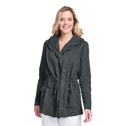 FLAX Women's Boardwalk Jacket Fadedblack