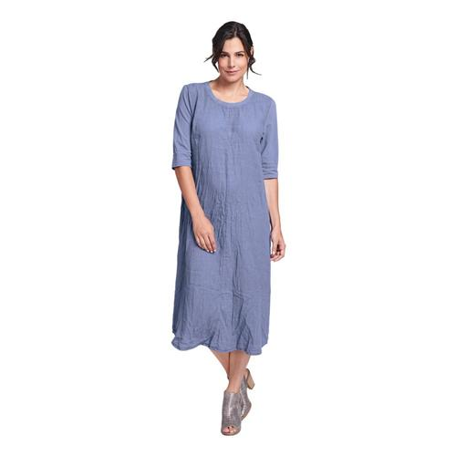 FLAX Women's Horizon Dress Indigo