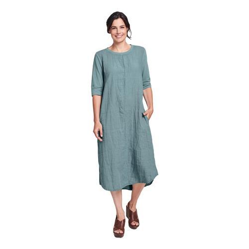 FLAX Women's Horizon Dress Jade