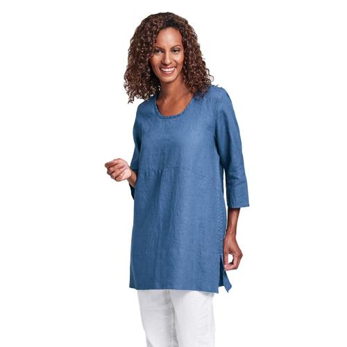 FLAX Women's Tranquil Pullover Ocean