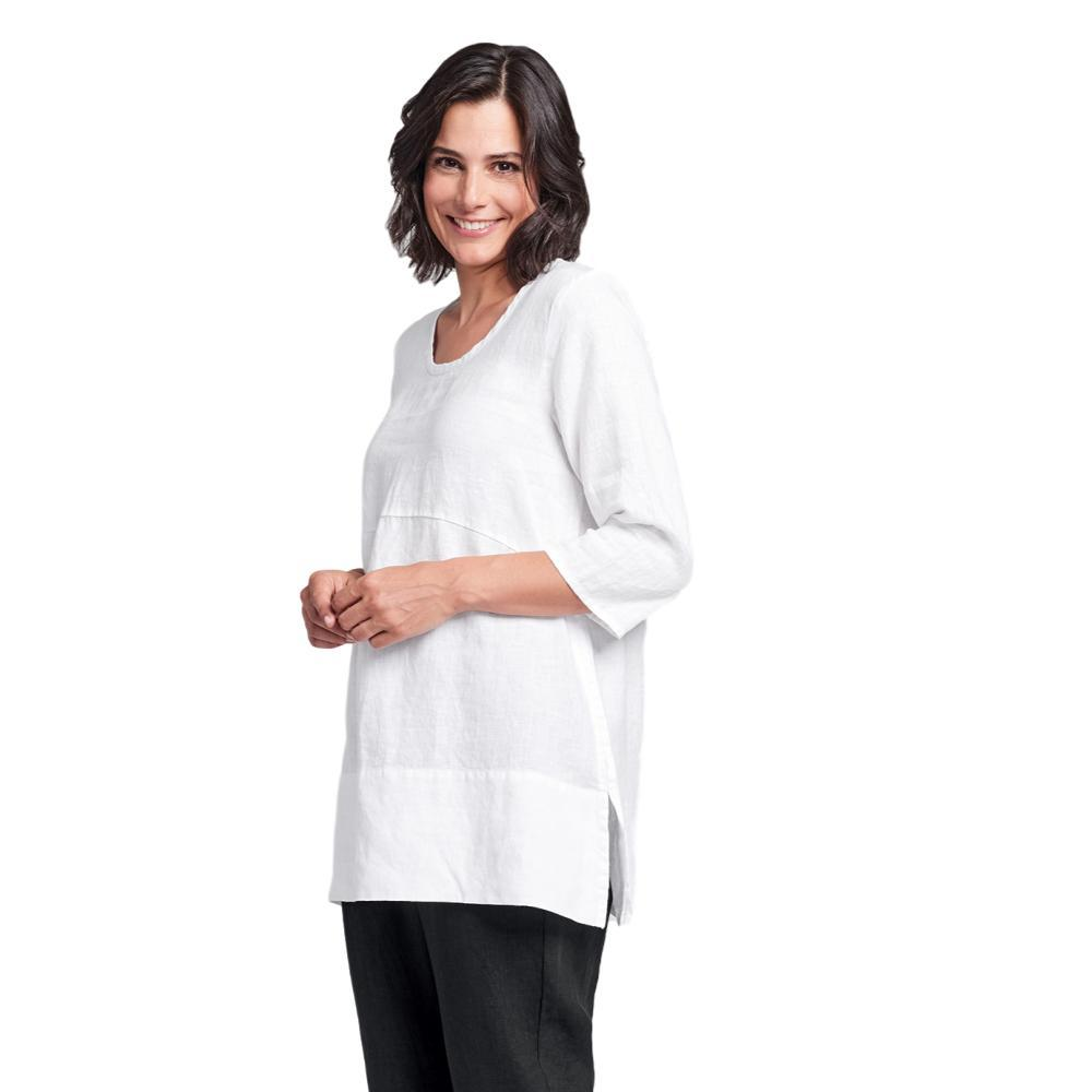 FLAX Women's Tranquil Pullover WHITE