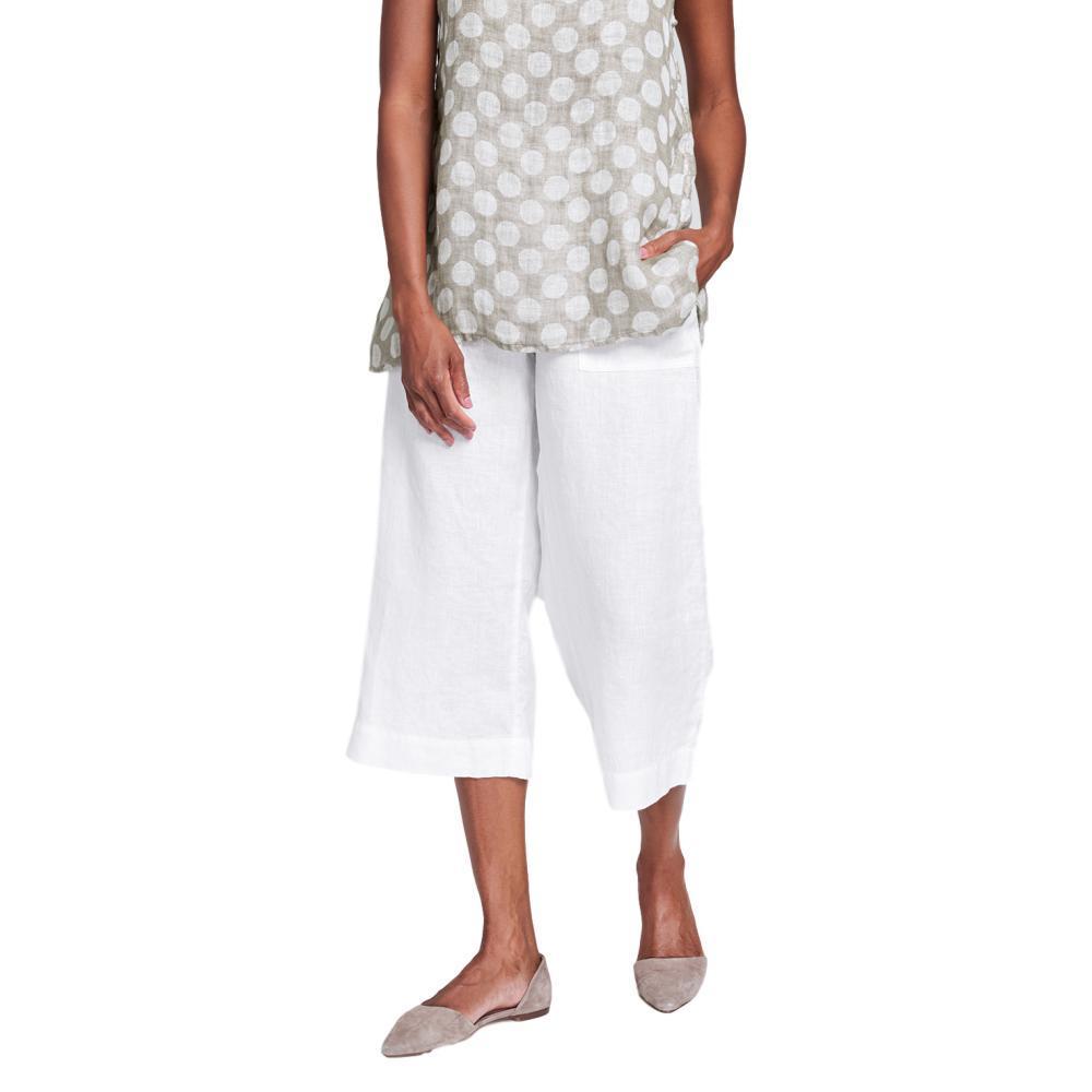 FLAX Women's Kate Pant WHITE