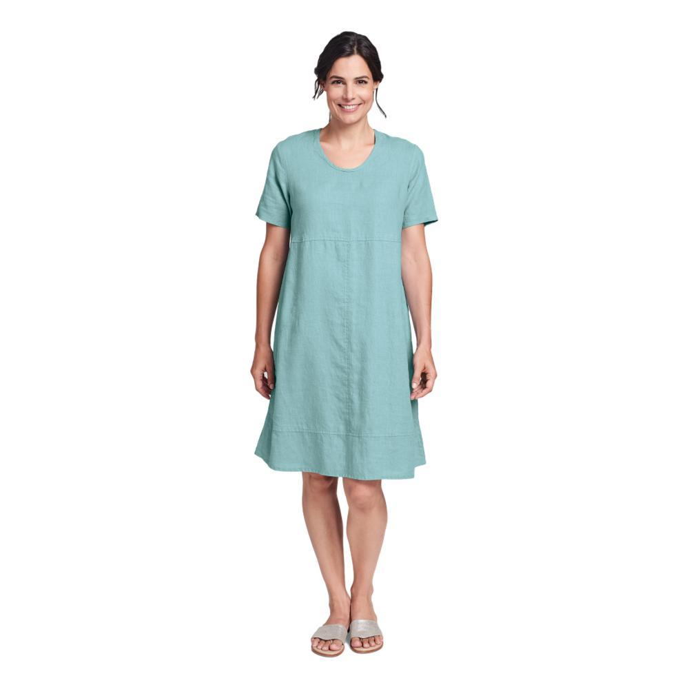 FLAX Women's Play Date Dress AQUA