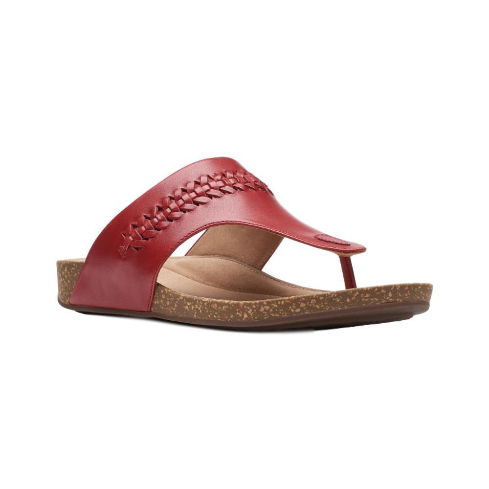 Clarks Women's Un Perri Vibe Sandals REDLTH