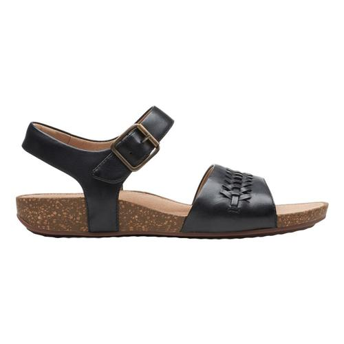 Clarks Women's Un Perri Way Sandals Blklth
