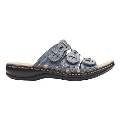 Clarks Women's Leisa Faye Sandals Blugrylth