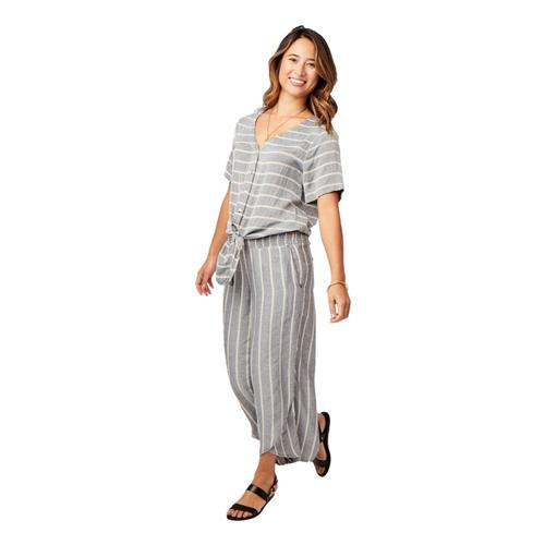 Carve Designs Women's Everly Pants Charcoal_010