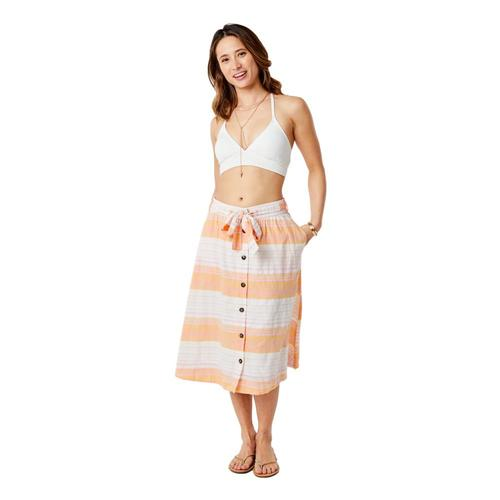 Carve Designs Women's Amaya Skirt Guava_951