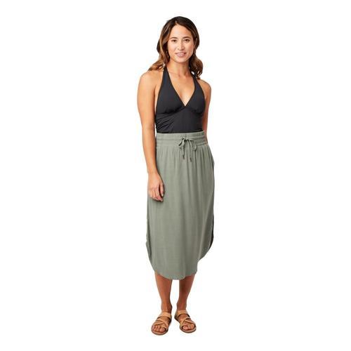 Carve Designs Women's Peyton Skirt Moss_378