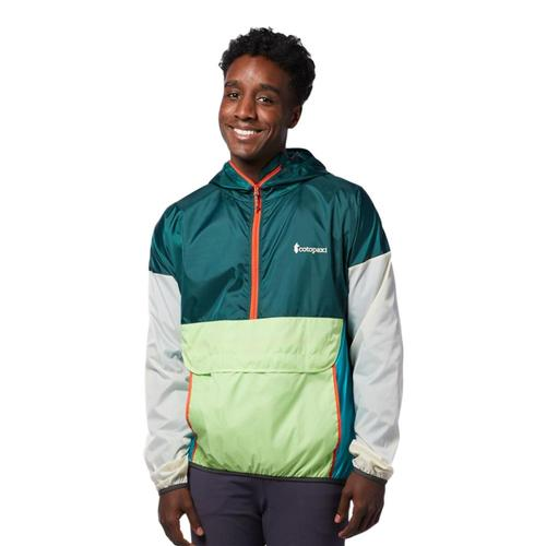 Cotopaxi Men's Teca Half-Zip Windbreaker Everglades