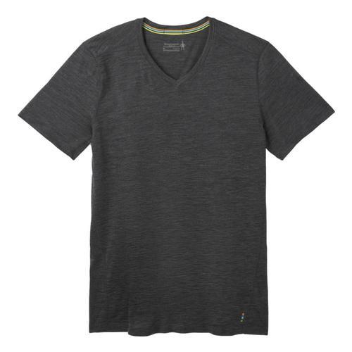 Smartwool Men's Merino 150 Short Sleeve V-Neck Tee Ironhe_d36
