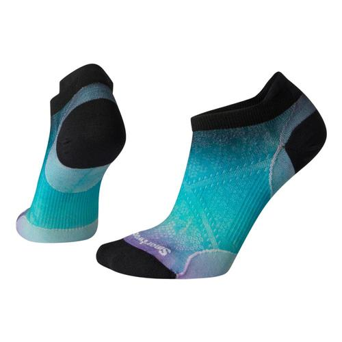 Smartwool Women's PhD Run Ultra Light Ombre Print Micro Socks Capri_810