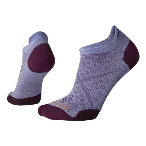 Smartwool Women's PhD Run Ultra Light Micro Socks Pumist_a26