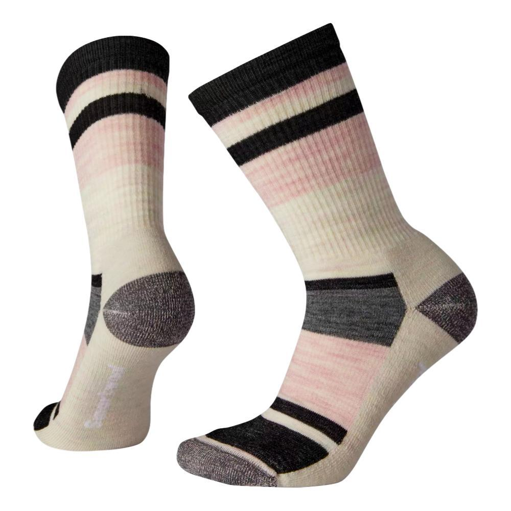 Smartwool Women's Hike Light Striped Crew Socks CHARCO_003