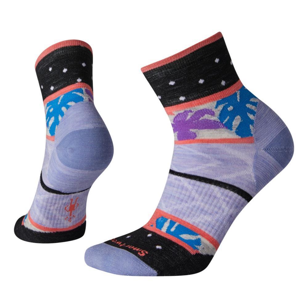 Smartwool Women's Floral Dot Mini Boot Socks PURPLE_A26