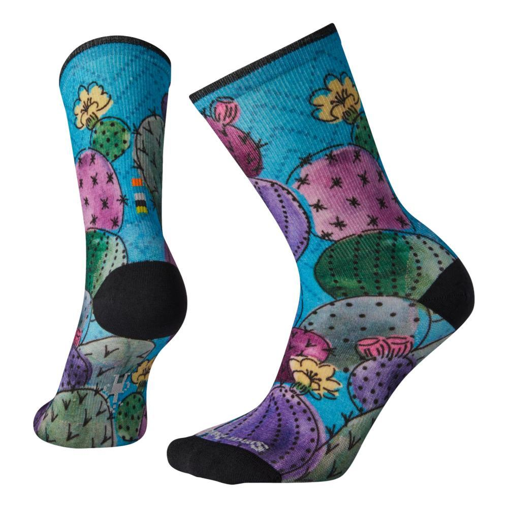Smartwool Women's Curated Cactus and Flowers Print Crew Socks MULTI_150