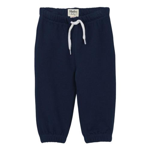 Hatley Navy French Terry Baby Joggers Solstice