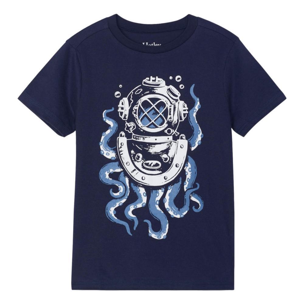 Hatley Boys Octopus Diver Graphic Tee NAVYPEA