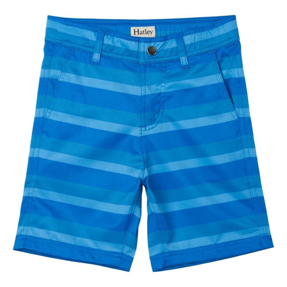 Hatley Boys Blue Stripe Quick Dry Shorts VICBLUE